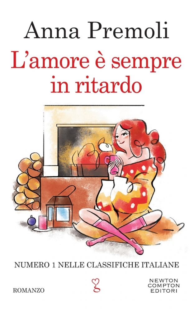 Book Cover: L'amore è sempre in ritardo - Anna Premoli Recensione