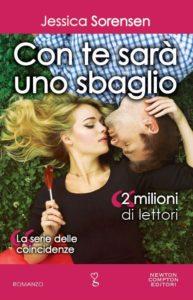 Book Cover: Con te sarà uno sbaglio - Jessica Sorensen Recensione