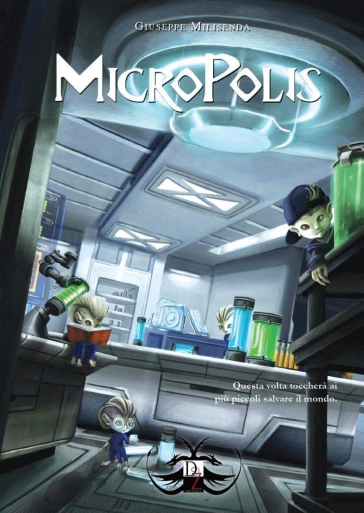 "Book Cover: Anteprima ""Micropolis"" di Giuseppe Milisenda"