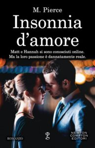 "Book Cover: In Uscita ""Insonnia D'Amore"" di M. Pierce"