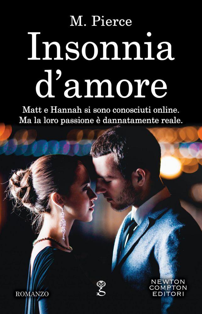 """Book Cover: In Uscita """"Insonnia D'Amore"""" di M. Pierce"""