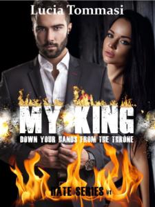 """Book Cover: """"My King"""" di Lucia Tommasi RECENSIONE"""