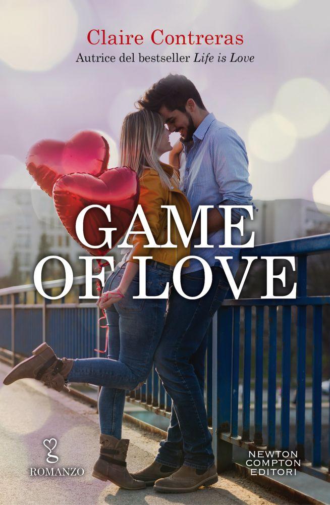 """Book Cover: """"Game of Love"""" di Claire Contreras - NOVITA'"""