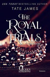 "Book Cover: ""L'Impostore"". The Royal Trials di Tate James - COVER REVEAL"