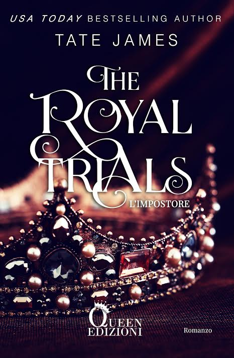 "Book Cover: ""L'Impostore"". The Royal Trials di Tate James - COVER REVEAL"