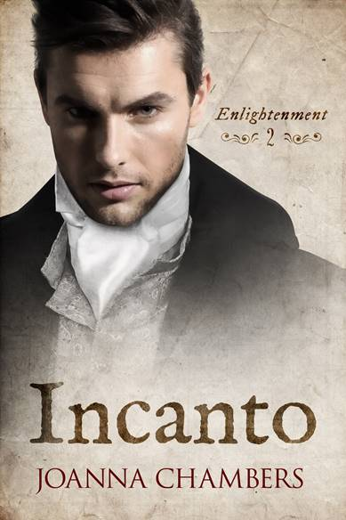 "Book Cover: Incanto ""Enlightenment Series"" di Joanna Chambers - SEGNALAZIONE"