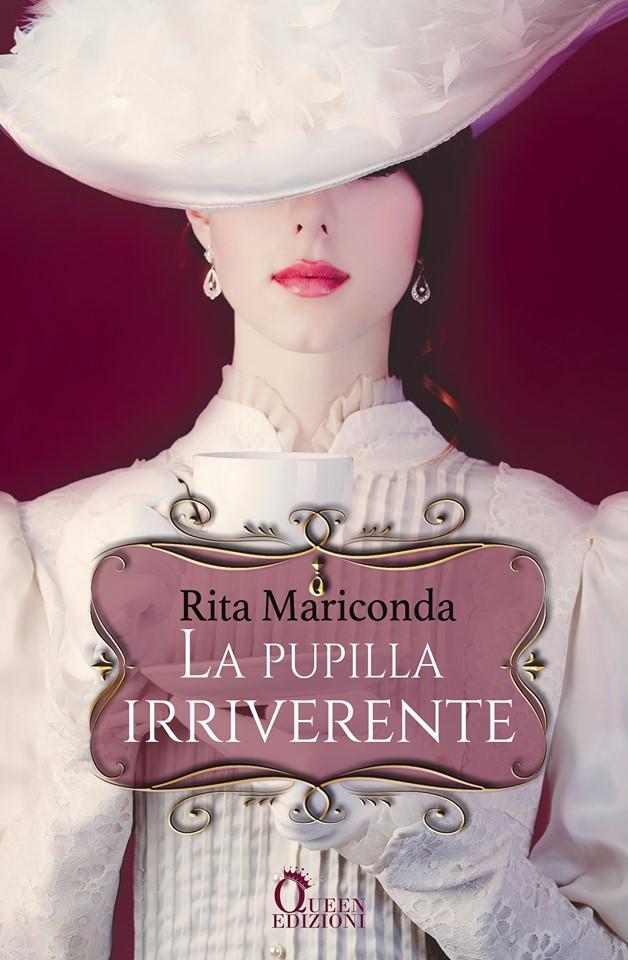 Book Cover: La pupilla irriverente di Rita Mariconda - COVER REVEAL