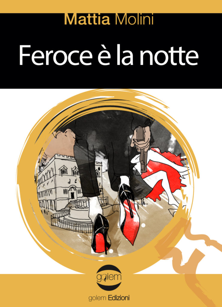 Book Cover: Feroce è la Notte di Mattia Molini - SEGNALAZIONI