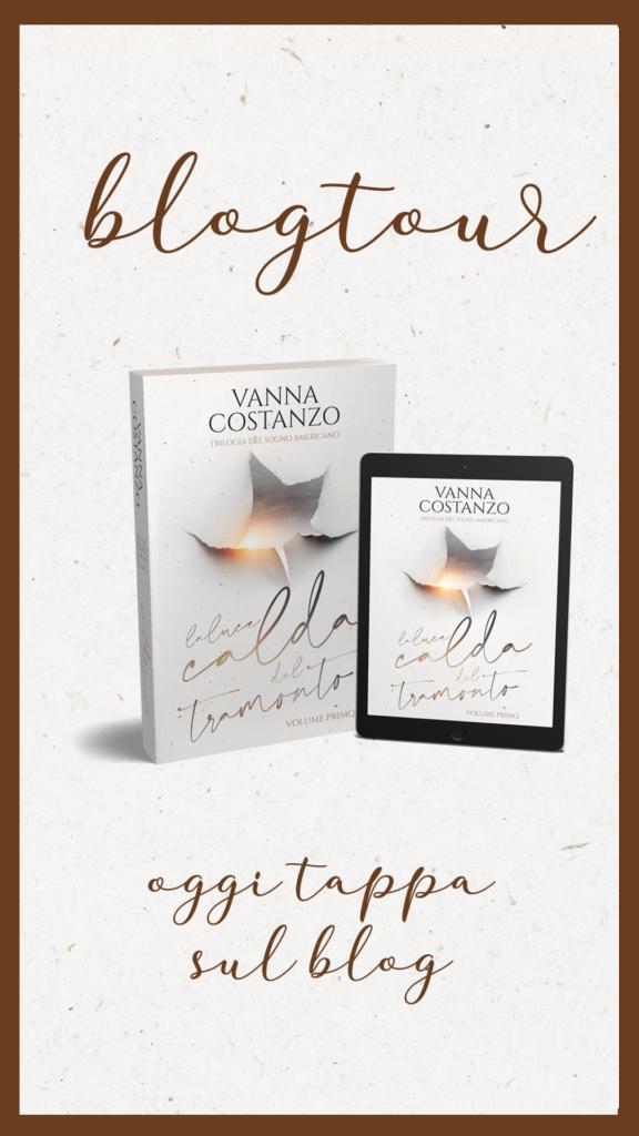 """Book Cover: Sveliamo gli altri personaggi de """"La Luce Calda del Tramonto"""" di Vanna Costanzo"""