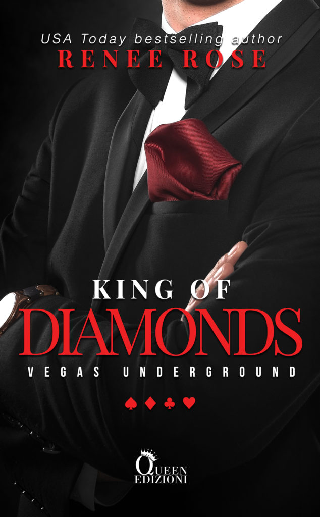 Book Cover: King of diamonds di Renee Rose - COVER REVEAL