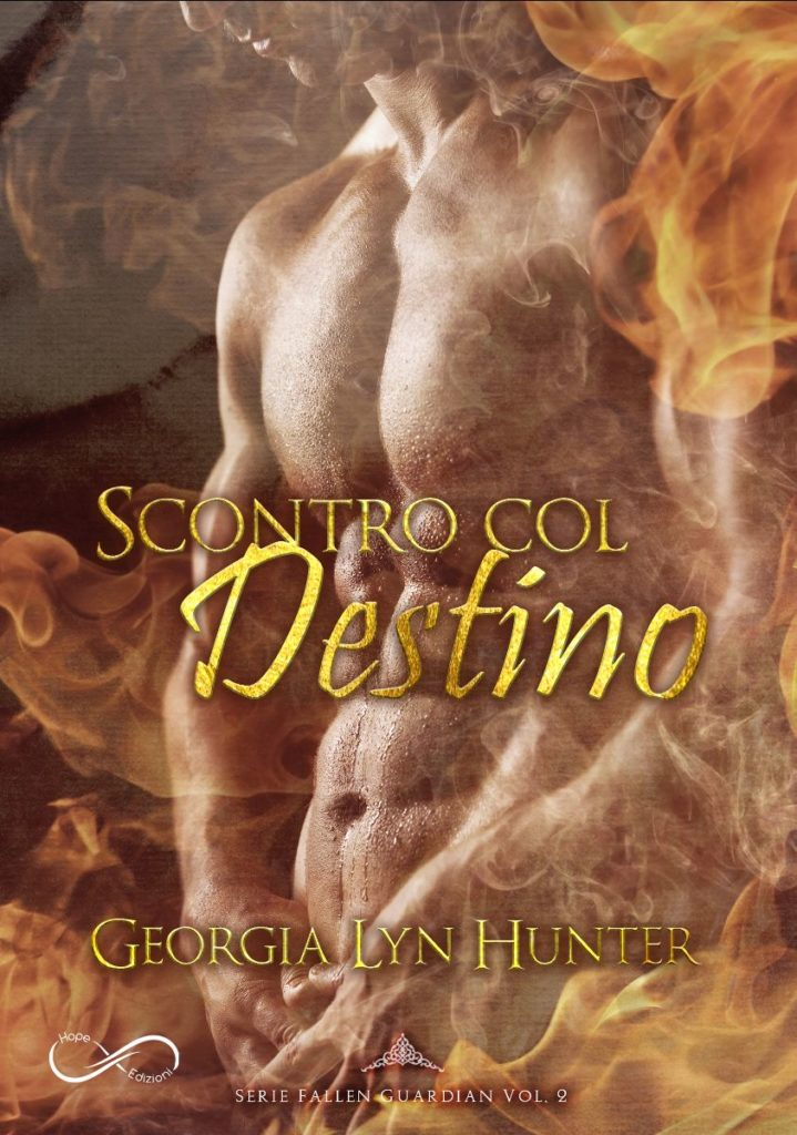Book Cover: Scontro col Destino di Georgia Lyn Hunter - COVER REVEAL