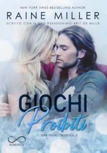 Book Cover: Giochi Pericolosi di Raine Miller - COVER REVEAL