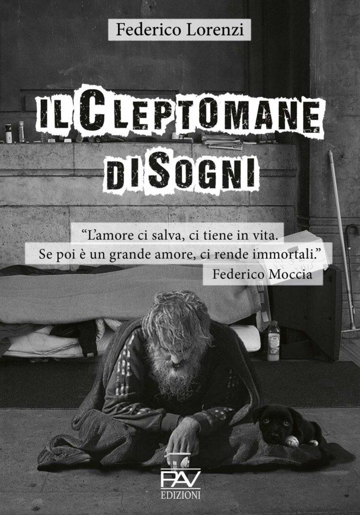 Book Cover: Il Cleptomane di Sogni di Federico Lorenzi - SEGNALAZIONE