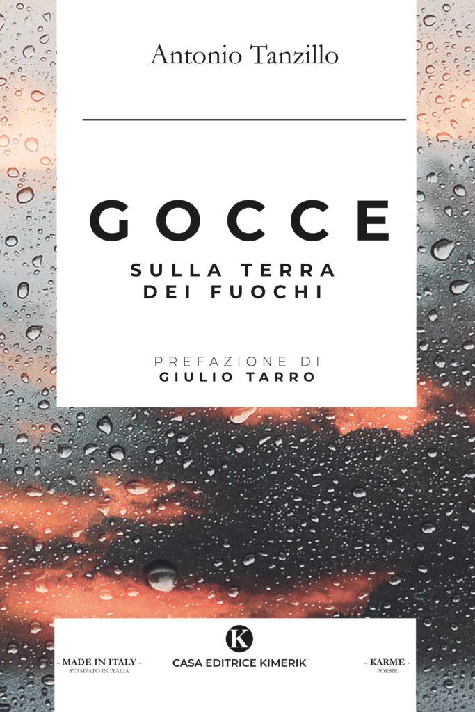 Book Cover: Gocce sulla terra dei fuochi di Antonio Tanzillo - SEGNALAZIONE