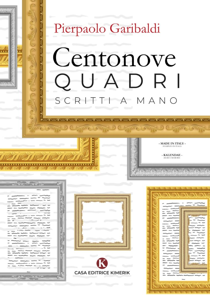 Book Cover: Centonove quadri scritti a mano di Pierpaolo Garibaldi - SEGNALAZIONE