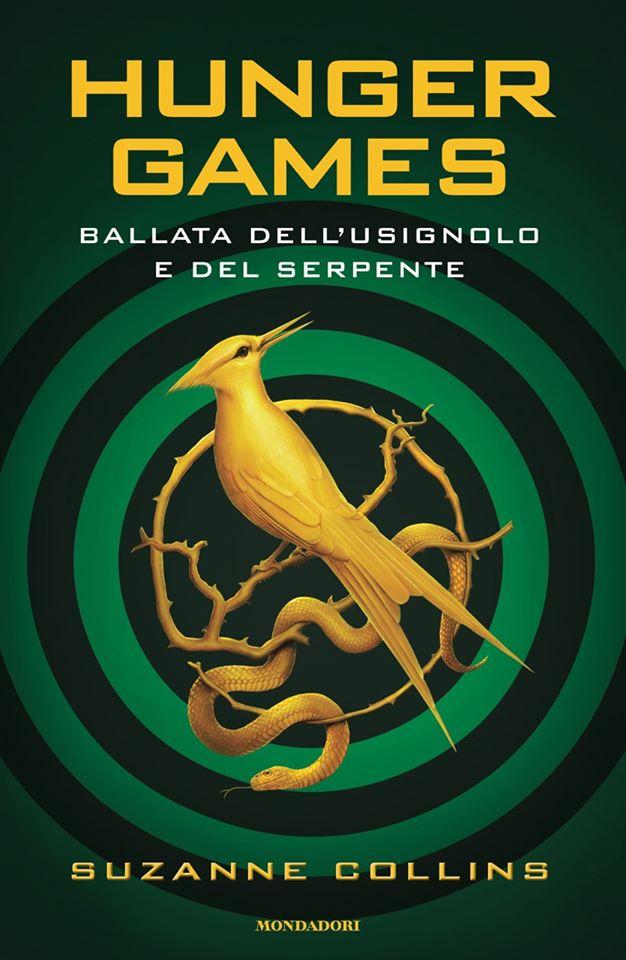 Book Cover: Hunger Games. Ballata dell'usignolo e del serpente di Suzanne Collins - ANTEPRIMA