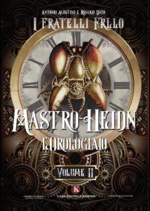 Book Cover: Mastro Heidn l'Orologiaio di I fratelli Frilo Agostino Antonio e Dato Rosario - SEGNALAZIONE