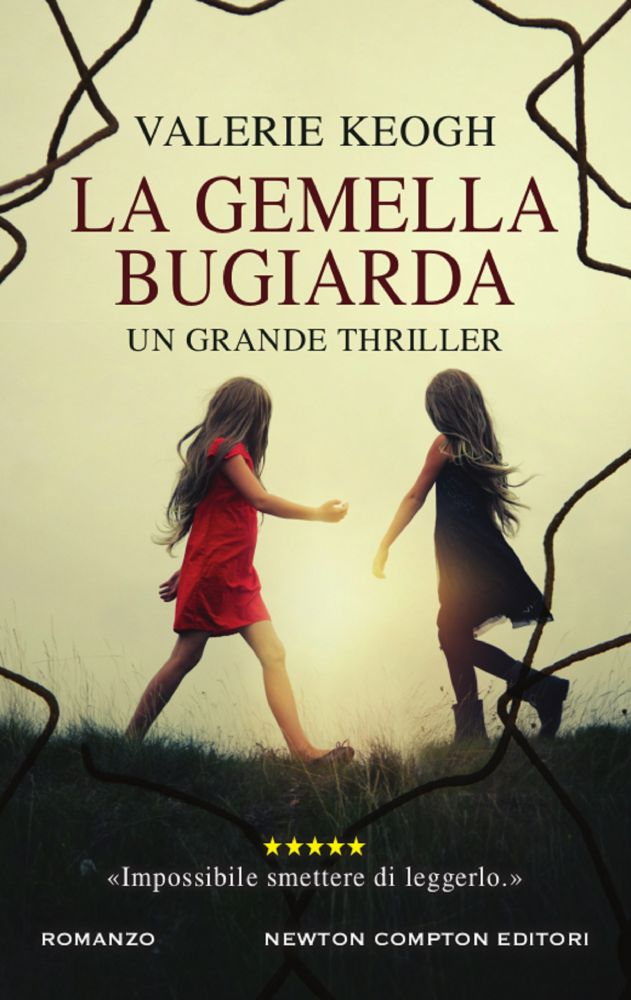 Book Cover: La gemella bugiarda di Valerie Keogh - SEGNALAZIONE