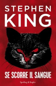 Book Cover: Se scorre il sangue di Stephen King - ANTEPRIMA