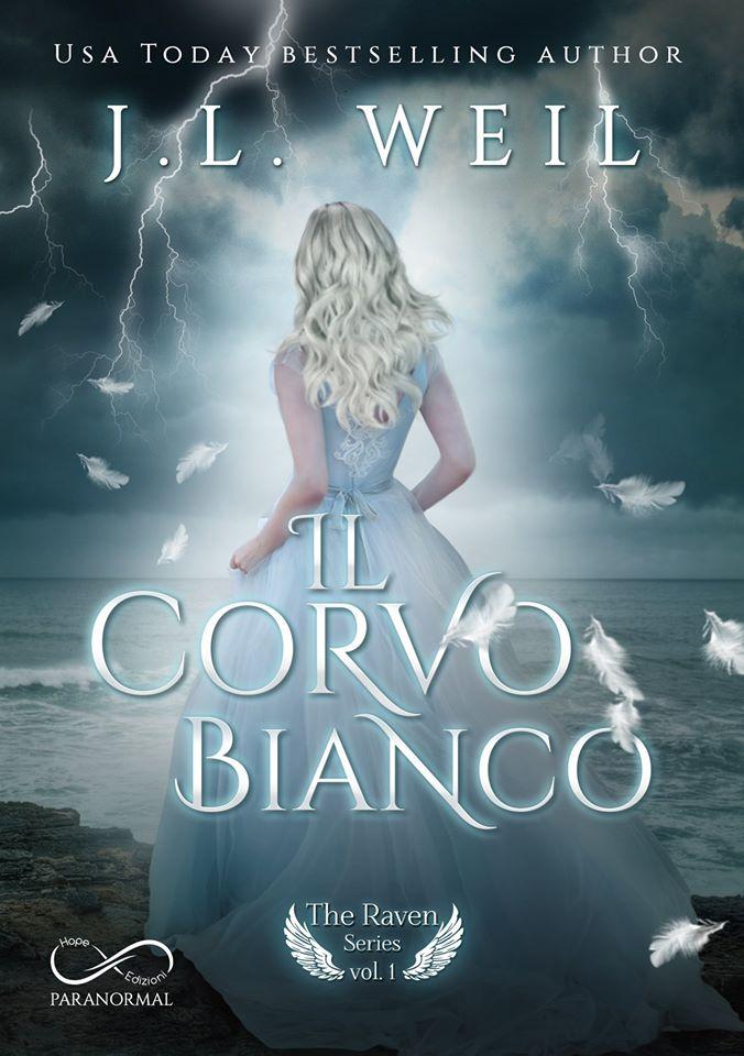 Book Cover: Il corvo bianco di J.L. Weil - SEGNALAZIONE