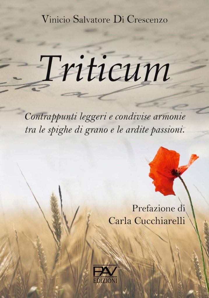 Book Cover: Triticum di Vinicio Salvatore Di Crescenzo - SEGNALAZIONE