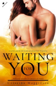 Book Cover: Waiting for you di Cristina Maggiotto - SEGNALAZIONE