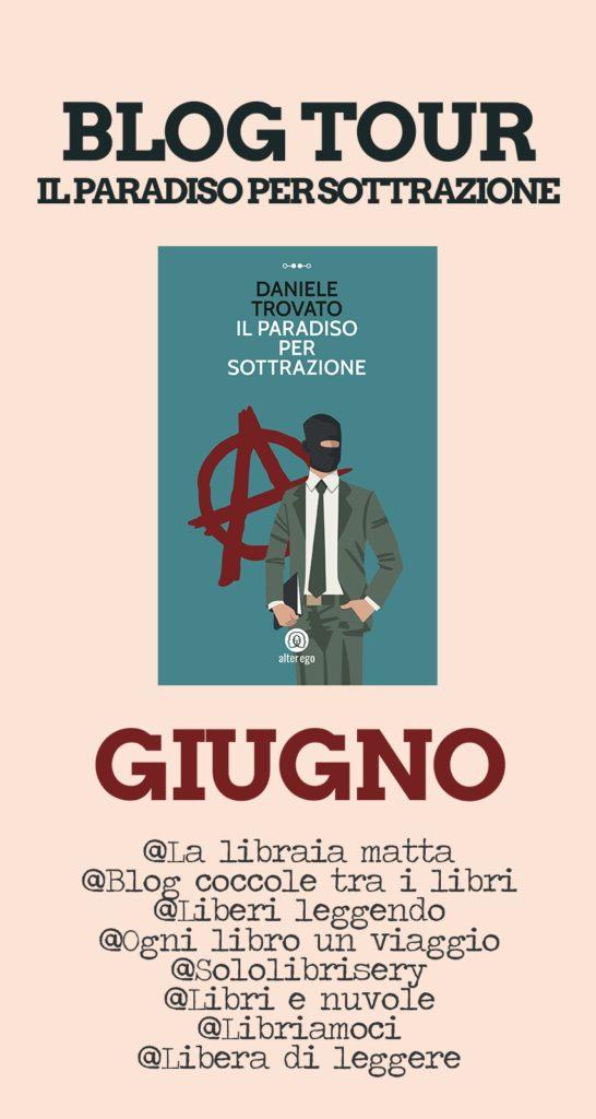 Book Cover: Il paradiso per sottrazione di Daniele Trovato - BLOG TOUR