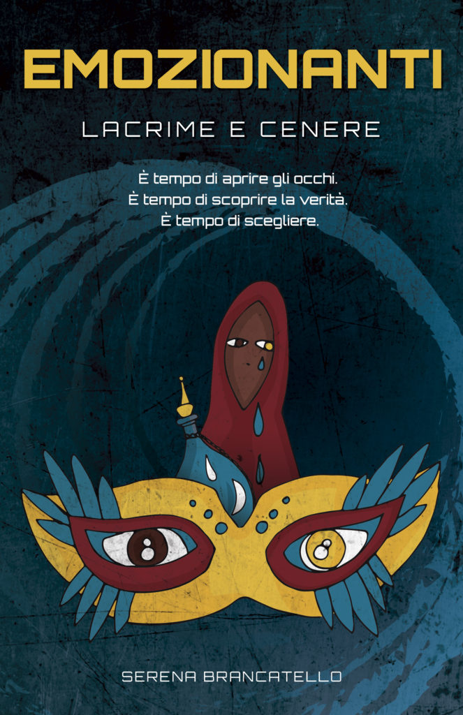 Book Cover: Lacrime e cenere di Serena Brancatello - COVER REVEAL