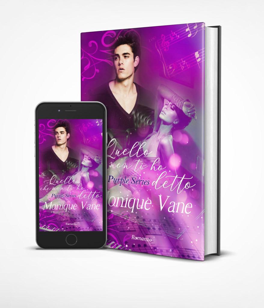 Book Cover: Quello che non ti ho detto di Monique Vane - RECENSIONE