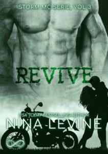 Book Cover: Revive di Nina Levine - COVER REVEAL