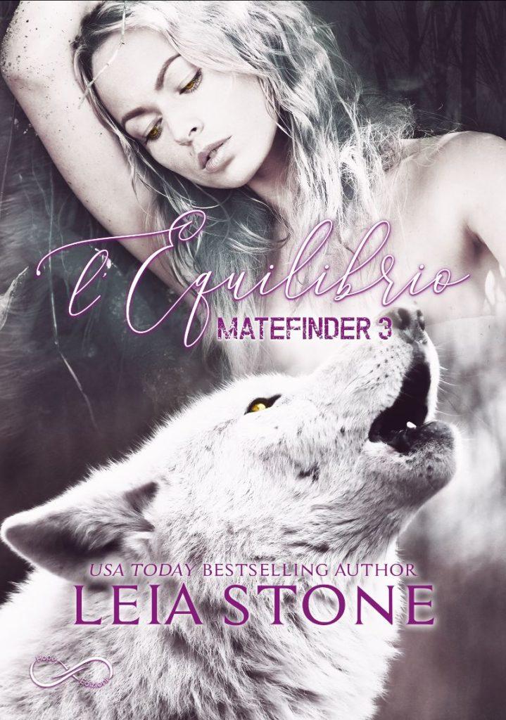 Book Cover: Matefinder - L'equilibrio di Leia Stone - COVER REVEAL