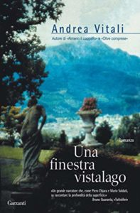 Book Cover: Una finestra vistalago di Andrea Vitali - RECENSIONE
