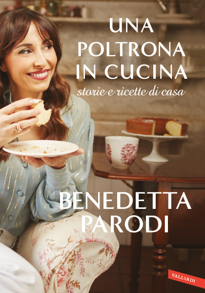 Book Cover: Una poltrona in cucina di Benedetta Parodi - SEGNALAZIONE