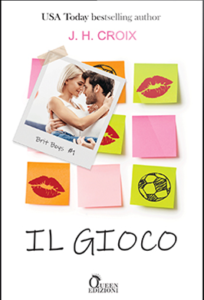 Book Cover: Il gioco di J.H. Croix - COVER REVEAL