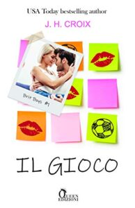 Book Cover: Il gioco di J.H. Croix - Review Party - RECENSIONE
