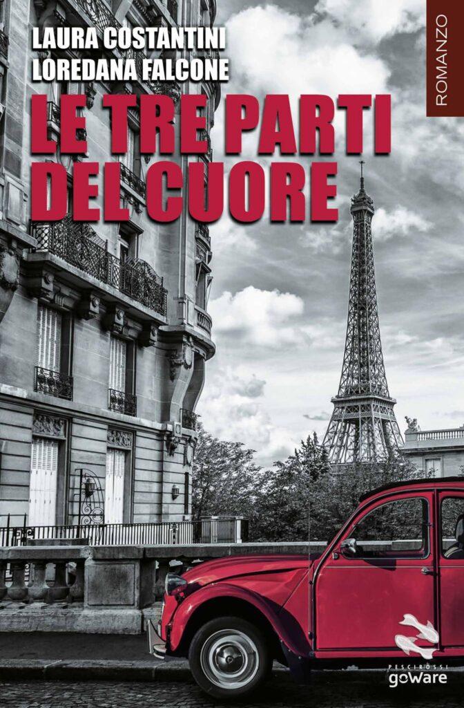Book Cover: Le tre parti del cuore di Laura Costantini - SEGNALAZIONE