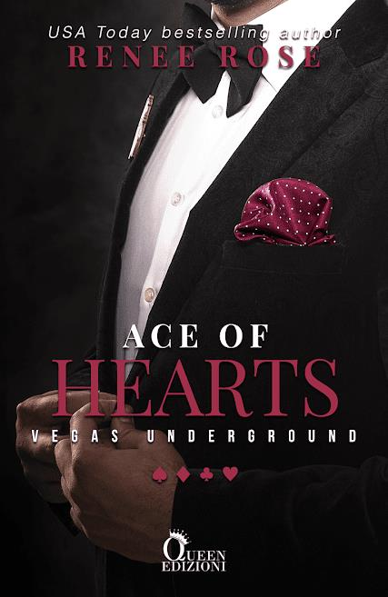 Book Cover: Ace of hearts di Renee Rose - COVER REVEAL