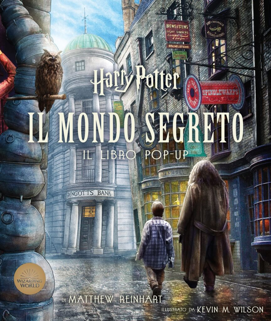 Book Cover: Harry Potter - Il mondo segreto - LIBRO POP UP