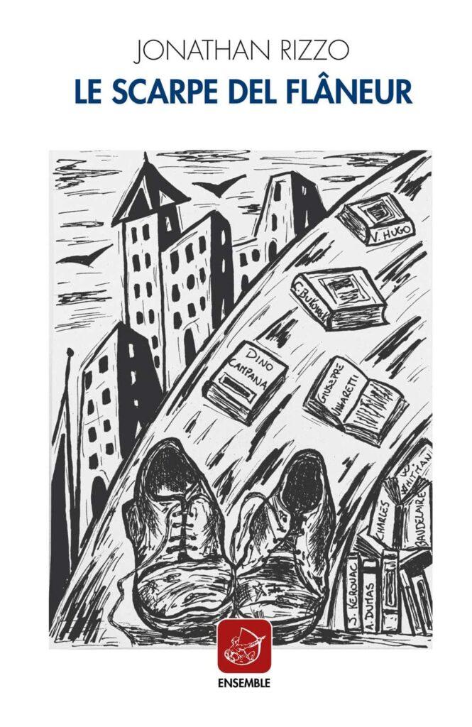 Book Cover: Le scarpe del flâneur di Jonathan Rizzo - RECENSIONE