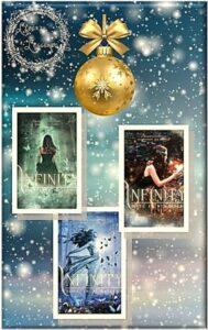"Book Cover: Saga Paranormal di ""Infinity"" di Alessandra Cigalino - Restyling - COVER REVEAL"