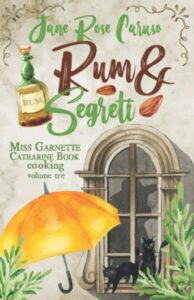 Book Cover: Rum e segreti di Jane Rose Caruso - RECENSIONE