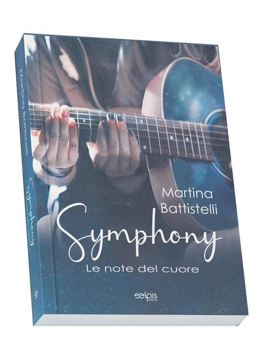 Book Cover: Symphony. Le note del cuore di Martina Battistelli - Cover Reveal