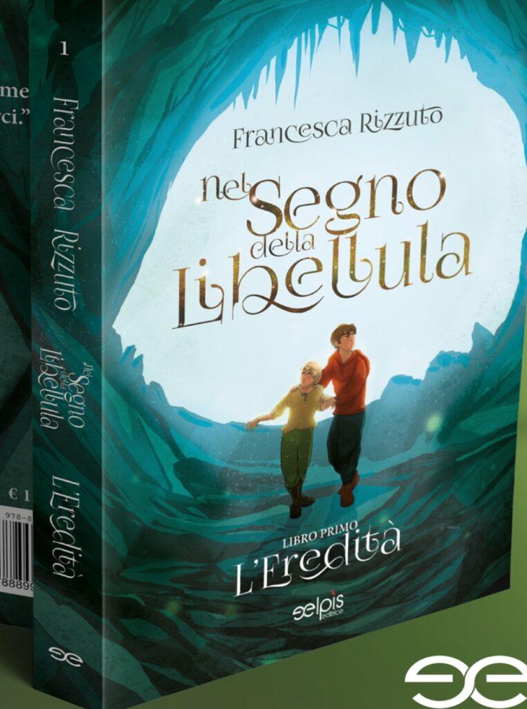 Book Cover: Nel segno della Libellula di Francesca Rizzuto - COVER REVEAL