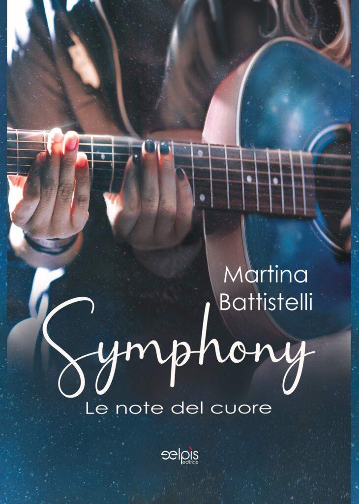 Book Cover: Symphony. Le note del cuore di Martina Battistelli - RECENSIONE
