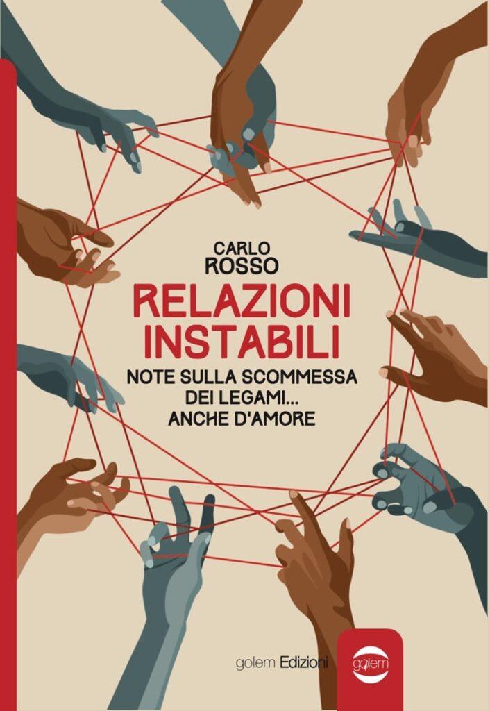 Book Cover: Relazioni Instabili di Carlo Rosso - COVER REVEAL