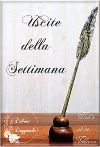 Book Cover: Uscite della Settimana dall'8 al 14 Febbraio
