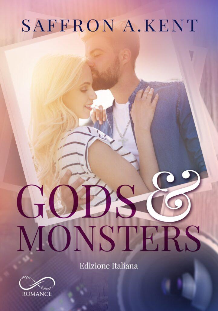 Book Cover: Gods & Monsters di Saffron A. Kent - COVER REVEAL