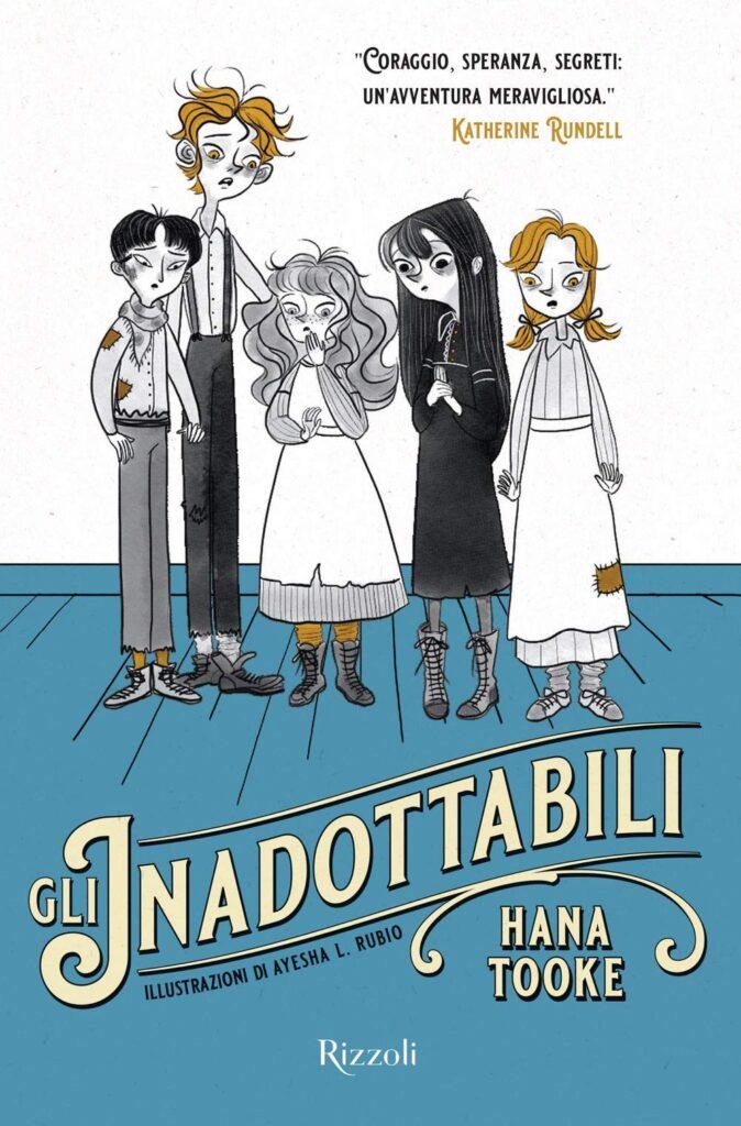 Book Cover: Gli inadottabili di Hana Tooke - RECENSIONE