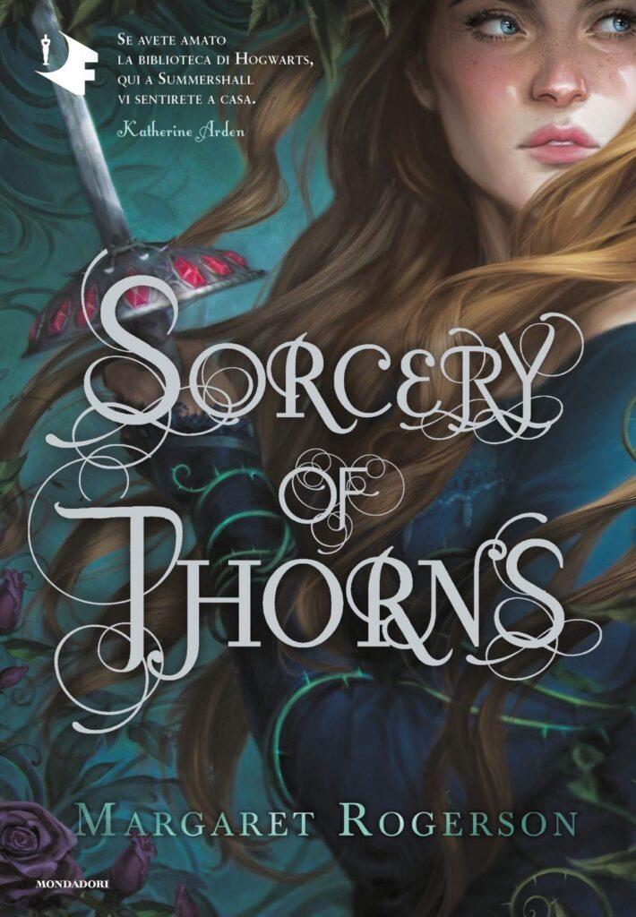Book Cover: Sorcery of Thorns di Margaret Rogerson - RECENSIONE