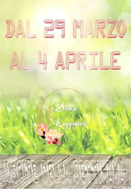 Uscite della Settimana dal 29 Marzo al 4 Aprile 2021